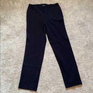 Liz Claiborne Stretch Waist Straight Leg Pants